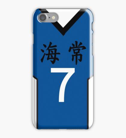 Kuroko no Basuke: KAIJO 7 iPhone Case/Skin