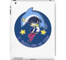 I swim for my team - Haruka Nanase iPad Case/Skin