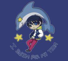 I swim for my team - Haruka Nanase by ainsil