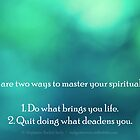 How To Master Your Spiritual Path by Stephanie Rachel Seely
