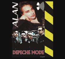 Alan Wilder Limited Edition Depeche Mode Shirt #5 by Shaina Karasik