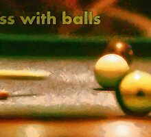 Chess with balls by Fernando Fidalgo
