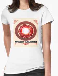 music awards Womens Fitted T-Shirt