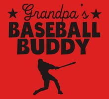 Grandpa's Baseball Buddy One Piece - Short Sleeve