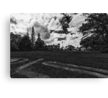 To the Manor Born Canvas Print