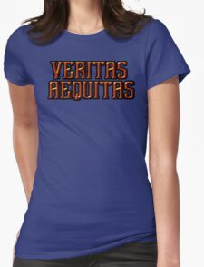 Boondock Saints: Veritas Aequitas Womens Fitted T-Shirt