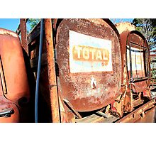 TOTAL rust. Photographic Print