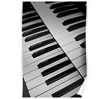 The keyboard. Poster