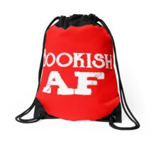 Bookish AF Drawstring Bag