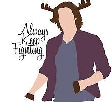 Always Keep Fighting Moose Jared by MorganCaroline