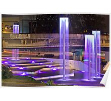 Fountains of light Poster