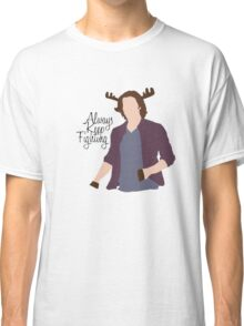 Always Keep Fighting Moose Jared Classic T-Shirt