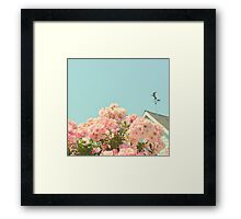 A Simple Kind of Life Framed Print