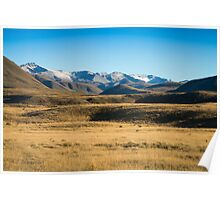 Hakatere Conservation Area - NZ Poster