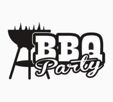 BBQ Party Kids Tee