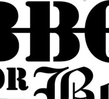 Will BBQ for Beer Sticker