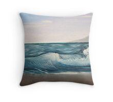 Ocean Breaker Throw Pillow
