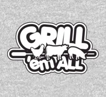 Grill 'em all One Piece - Short Sleeve