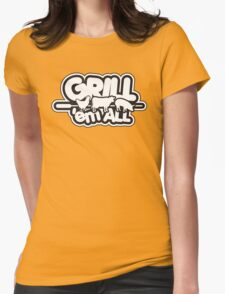 Grill 'em all Womens Fitted T-Shirt