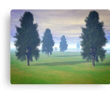Fairway To Seven Canvas Print