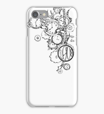 Time machine design for mobile cover iPhone Case/Skin