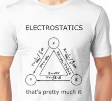 Electrostatics thats pretty much it [LIGHT] Unisex T-Shirt