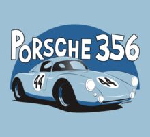 Porsche 356 Racer One Piece - Short Sleeve