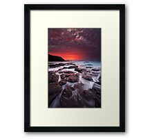 The Flinders Blowhole Framed Print