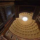 Pantheon Rome Entrance by saaton
