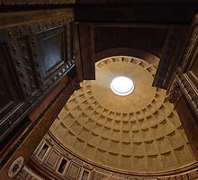 Pantheon Rome Entrance by saaton