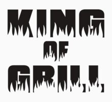 King of Grill One Piece - Short Sleeve