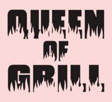 Queen of Grill Kids Tee