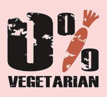 0 % Vegetarian One Piece - Short Sleeve