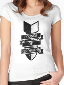 Hounds of Hiroshima - Bomb Women's Fitted Scoop T-Shirt