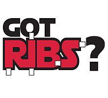 Got Ribs? Photographic Print