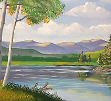 Riverside Birch by davidbelcastro