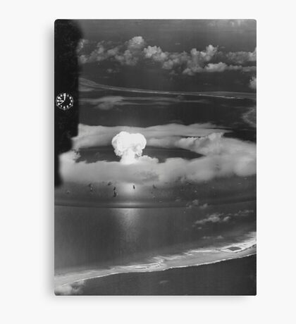Mushroom Cloud Operation Crossroads Nuclear Weapons Test (July 1946) Canvas Print
