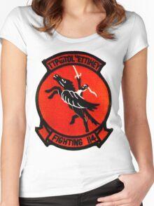 VF-114 Aardvarks Women's Fitted Scoop T-Shirt