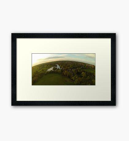 Above St Albans II Framed Print