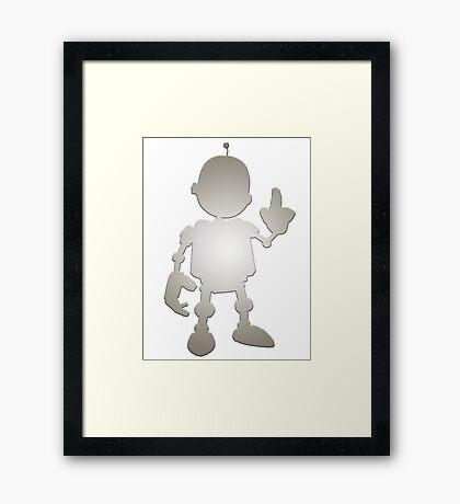 R&C - Clank Framed Print