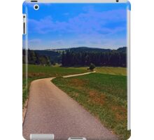Yet another boring hiking trail picture | landscape photography iPad Case/Skin