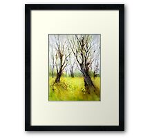 Carpets of Gold Framed Print