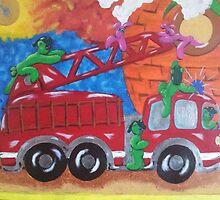 Fire Engine II by LIghtSpeedArts