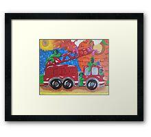 Fire Engine II Framed Print