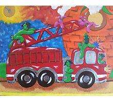 Fire Engine II Photographic Print