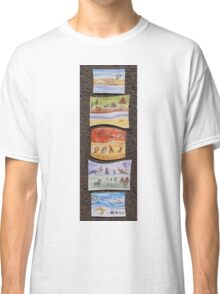 Puzzle Painting Animals from Earth Classic T-Shirt