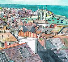 St Ives Chimney pots by doatley
