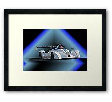 Prototype P1 Racecar Framed Print