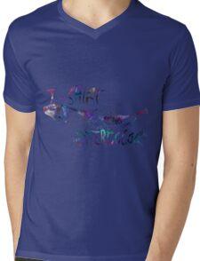 watercolor Mens V-Neck T-Shirt