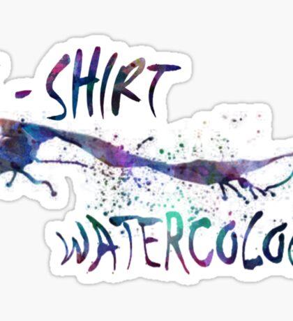 watercolor Sticker